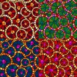Circular pattern Stock Image