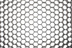 Circular pattern beehive Royalty Free Stock Photo