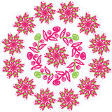 Circular pattern. The circular pattern is used to  Stock Images