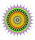 Circular pattern design Royalty Free Stock Image