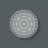 Circular pattern design element Stock Images