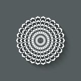 Circular pattern design element Royalty Free Stock Photo