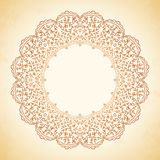 Circular pattern of flowers Royalty Free Stock Images
