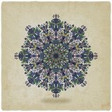 Circular pattern mandala old background Royalty Free Stock Photos