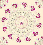 Circular pattern Stock Photography