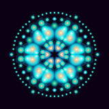 Circular pattern space2. Circular pattern space, vector image Stock Image