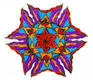 Circular patterned  drawing. Stock Photos
