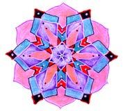 Circular patterned  drawing. Royalty Free Stock Images