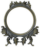 CIRCULAR PHOTO FRAME Royalty Free Stock Images