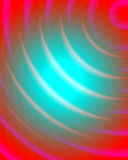 Circular pink and red background Stock Images