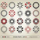 Circular pointers Royalty Free Stock Photo