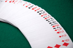 Circular Poker S Deck Stock Images