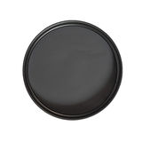 Circular polarising filter Stock Image