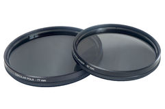 Circular polarizer filter Royalty Free Stock Photo