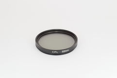 Circular polarizer filter Royalty Free Stock Photos