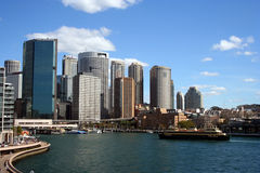 Circular Quay. Sydney New South Wales royalty free stock image