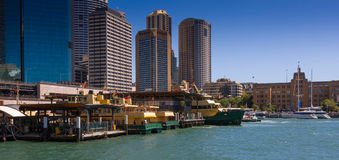 Circular Quay Royalty Free Stock Images