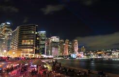 Circular Quay downtown cityscape Sydney Australia Stock Image