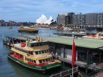 Circular Quay Ferry Terminal Royalty Free Stock Photo
