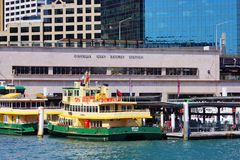 Circular Quay Ferry Terminal, Sydney Harbour, Australia Stock Photo