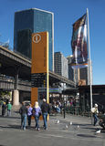 Circular quay ferry wharf Royalty Free Stock Image