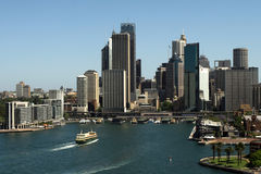 Circular Quay, Sydney. Australia, Sunny Day Stock Photos
