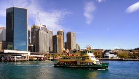 Circular Quay Sydney. Royalty Free Stock Photos