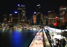 Circular Quay, Sydney, Australia Royalty Free Stock Photography