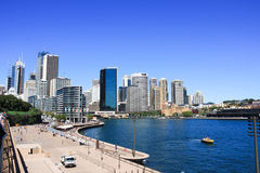 Circular Quay Sydney Australia Royalty Free Stock Photo
