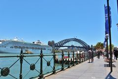 Circular Quay, Sydney, Australia Royalty Free Stock Photo
