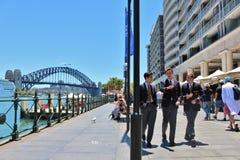 Circular Quay, Sydney, Australia Stock Photos