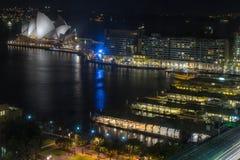 Circular Quay in Sydney Australia Stock Photography