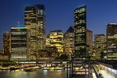 Circular Quay in Sydney Australia Stock Photo