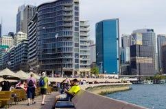 Circular Quay,Sydney, Australia. Stock Photos