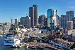 Circular Quay in Sydney Australia Royalty Free Stock Image