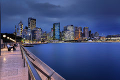 Circular Quay Sydney and CBD, Australia Stock Images