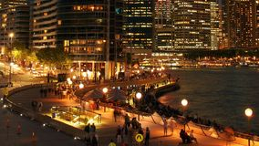 Circular Quay, Sydney Royalty Free Stock Photo