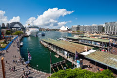 Circular Quay - Sydney Harbour, Australia Stock Photography