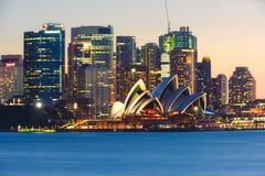 Circular Quay and Sydney Opera House Stock Photos