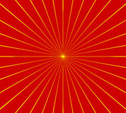 Circular radial, radiating lines element. Abstract rays, beams, Royalty Free Stock Photos