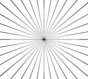 Circular radial, radiating lines element. Abstract rays, beams,. Flash effect - Royalty free vector illustration vector illustration