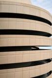 Circular Ramp to Cement Parking Garage Stock Image