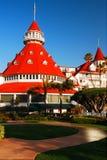 Hotel del Coranado, San Diego royalty free stock photo