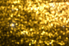 Circular reflections of Christmas lights Royalty Free Stock Images
