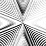Circular ripple pattern, concentric circles, rings abstract geom. Etric illustration - Royalty free vector illustration Royalty Free Illustration