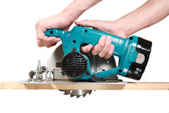 Circular Saw Royalty Free Stock Images