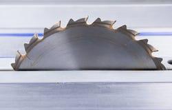 Circular saw. Sharp metallic circular saw for cutting wood Stock Images
