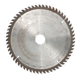 Circular saw. Isolated over a white background Stock Images