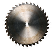 Circular Saw. Isolated over a white background - With Clipping Path Royalty Free Stock Photography