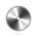 Circular saw blade stock illustration